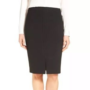 NWT! Classiques Entier Double Cloth Pencil Skirt